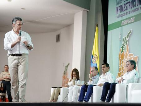 """""""La App del río Magdalena va"""": Presidente Santos"""