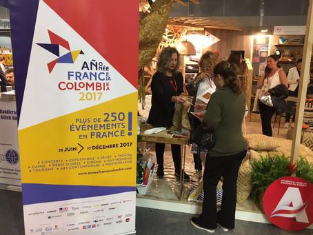 Artesanas del Atlántico participaron en feria de Paris