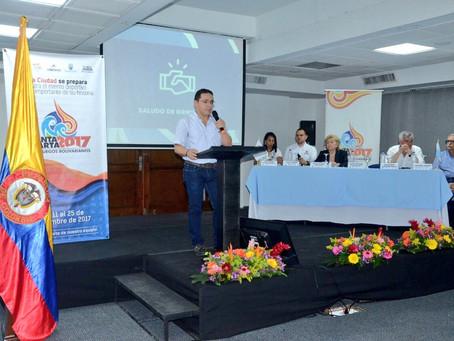 Alcalde de Santa Marta no recibirá Llama de los Bolivarianos por tutela que le impide salir del país