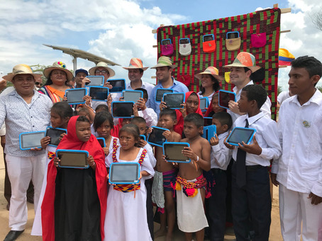 47 sedes educativas en La Guajira se beneficiarán con tecnología solar y tabletas