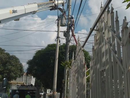 En Santa Marta, sin energía más de 67 barrios por trabajos de Transelca