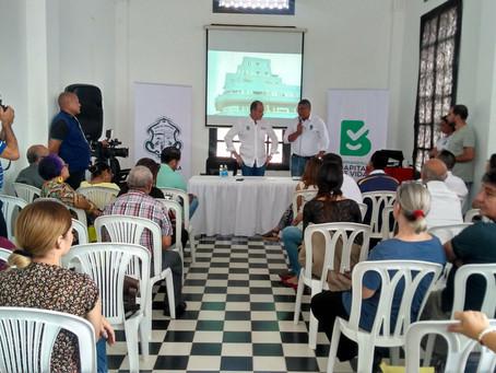 Se logra firma para buscar que 15 bienes en Barranquilla sean declarados como Patrimonio Cultural
