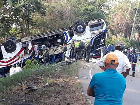 Permanecen hospitalizados heridos del accidente en Planeta Rica, Córdoba