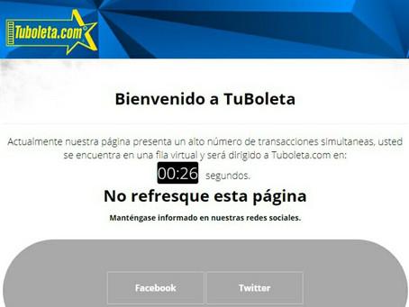 Suspendida indefinidamente la venta de boletas para clientes Bancolombia por irregularidad
