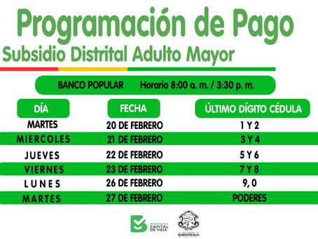Así será el cronograma para reclamar subsidio del adulto mayor en Barranquilla