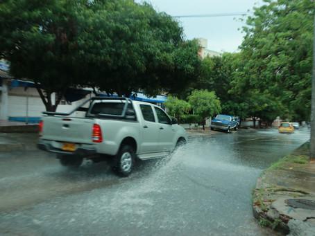 Sectores en Barranquilla y Soledad amanecieron sin agua y sin luz luego de fuerte lluvia