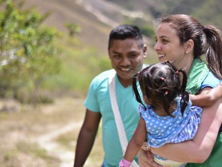 Feliz regreso: niños indígenas de la Sierra Nevada retornaron luego de estar en riesgo de salud