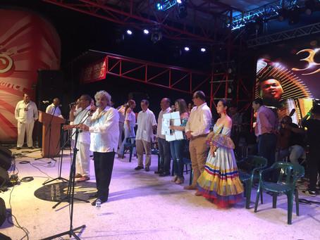 Inició el 39° Festival Cuna de Acordeones en Villanueva, La Guajira