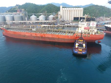 El puerto de Santa Marta alcanzó récord al movilizar más de 47 mil toneladas de granel líquido