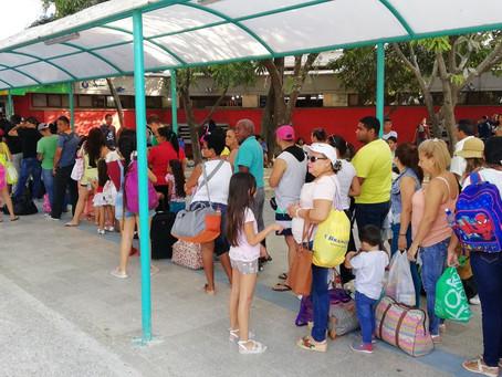 Así está la dinámica de la Terminal en Barranquilla
