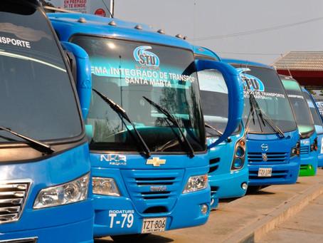 Santa Marta tendrá nuevo servicio para buses de STU