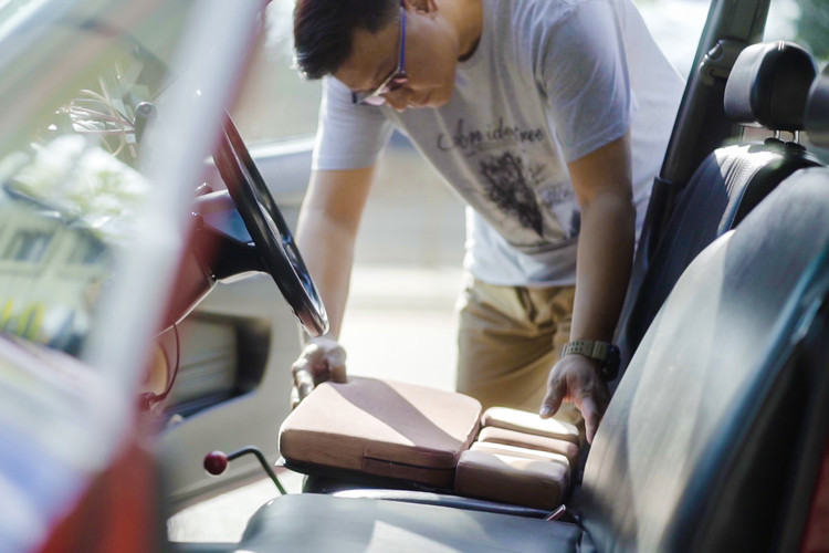 Flexi-mat - Driver's comfortable seat cushion