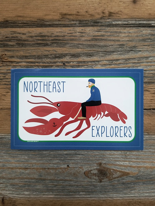 NEX Lobster Sticker