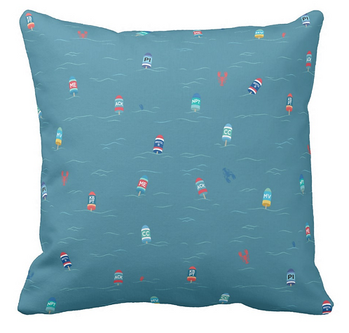 Reversible Buoy Pillow