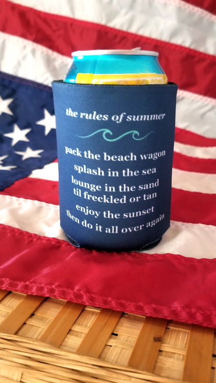 Rules of Summer Koozie