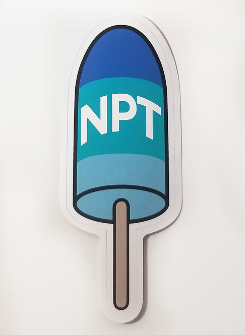 Newport Buoy Sticker