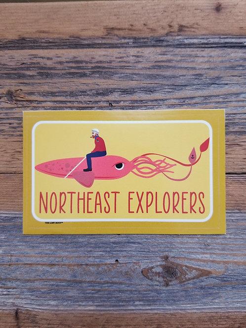 NEX Giant Squid Sticker