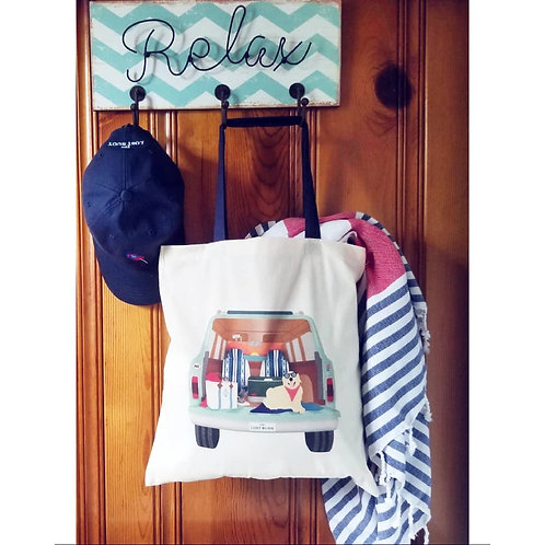 Mint Beach Wagon Tote