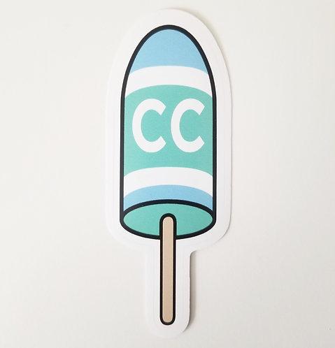 Cape Cod Buoy Sticker