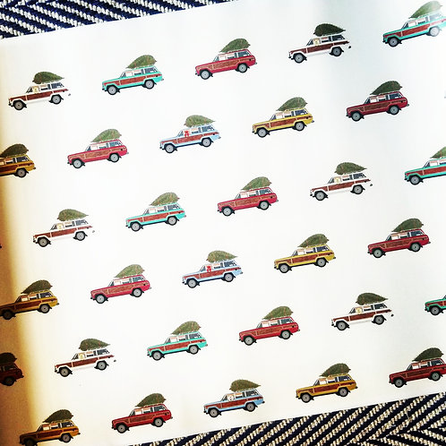 Wagoneer Wrapping Paper