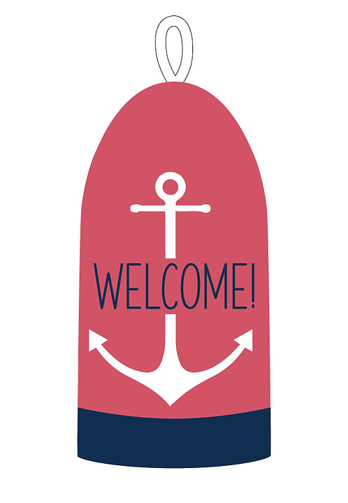 A Nautical Welcome Buoy