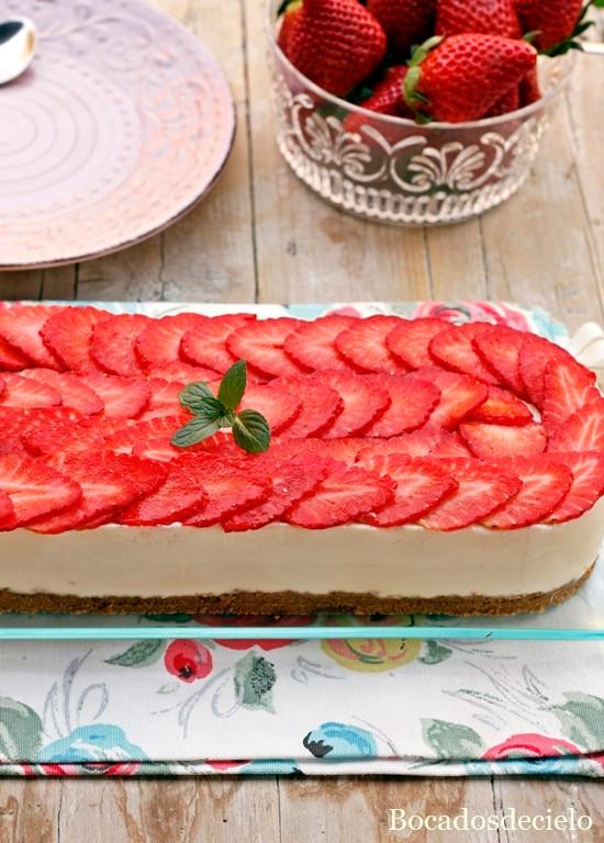 tarta fresa