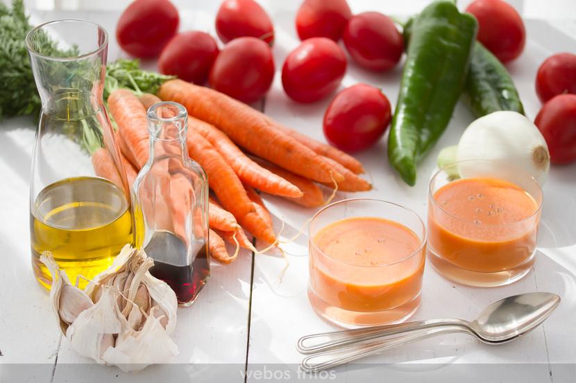 gazpacho zanahoria