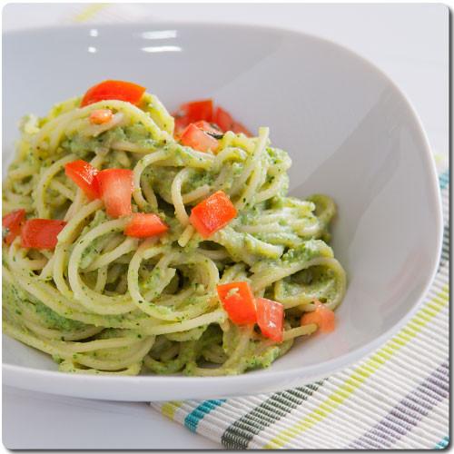 pasta y brocoli