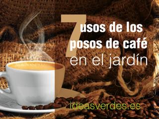 7 maneras de usar posos de café en el Huerto