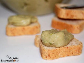 Crema de alcachofas para untar