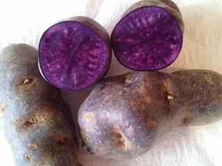 Propiedades de las patatas moradas