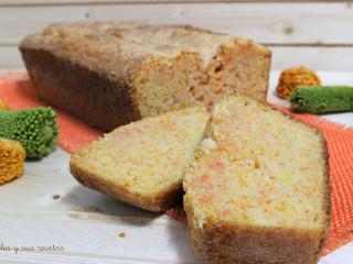 Bizcocho de zanahoria y limón sin gluten