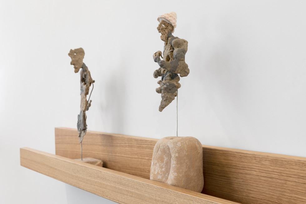 'Pareidolia' - installation view, 2021 Parterre, Tel Aviv