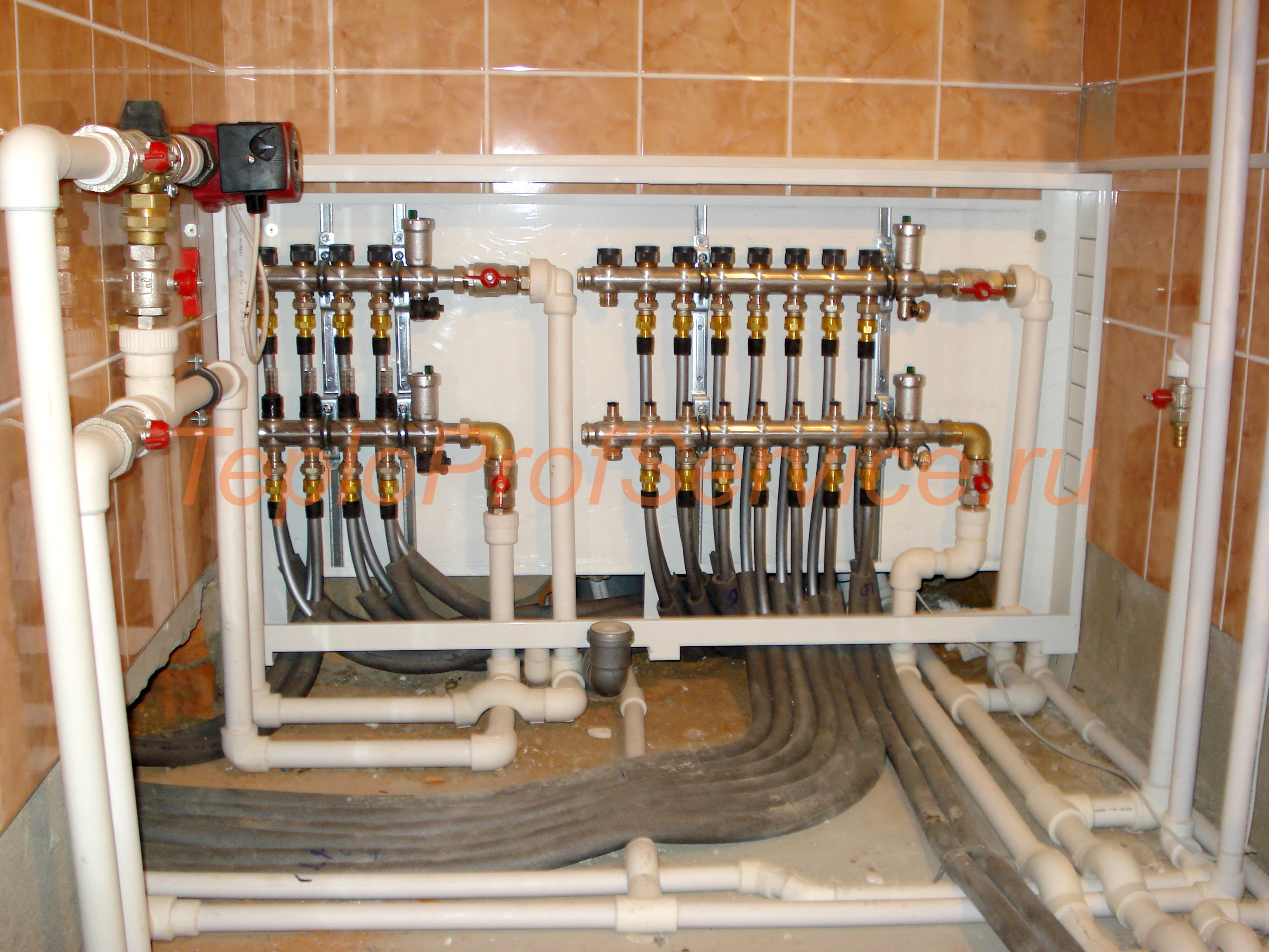 Система отопления загородного дома