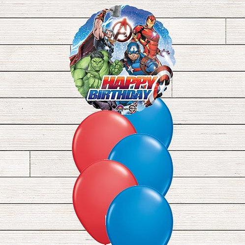 Avengers Balloon Bouquet