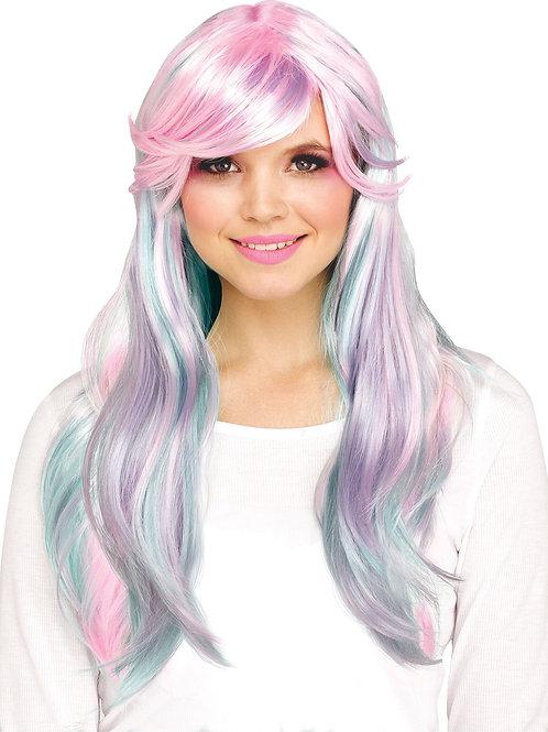 Pastel Fantasy Unicorn Wig
