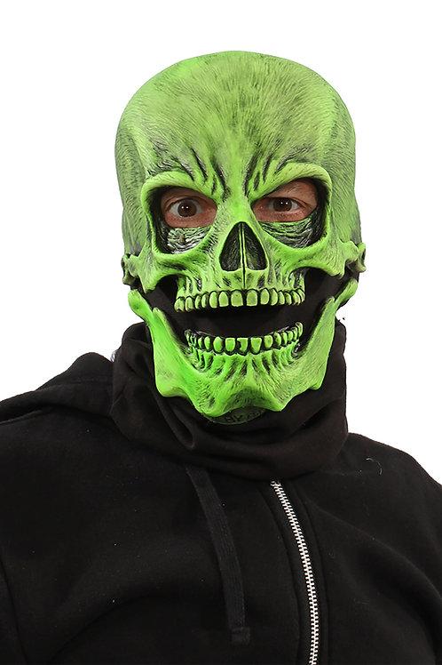 UV Green Skull Mask