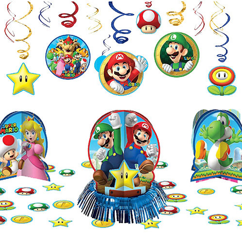 Super Mario Bros. Decoration Kit