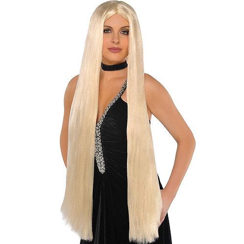 "Long Blonde 36"" Wig"