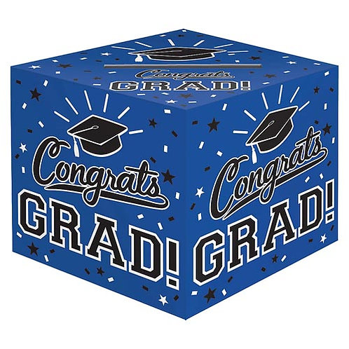 Blue Grad Card Box