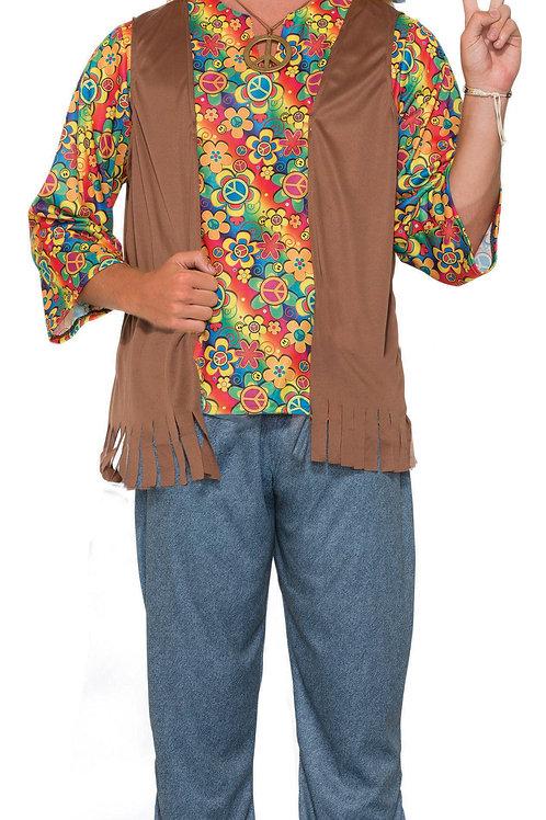 Hippie Dude Men's Costume
