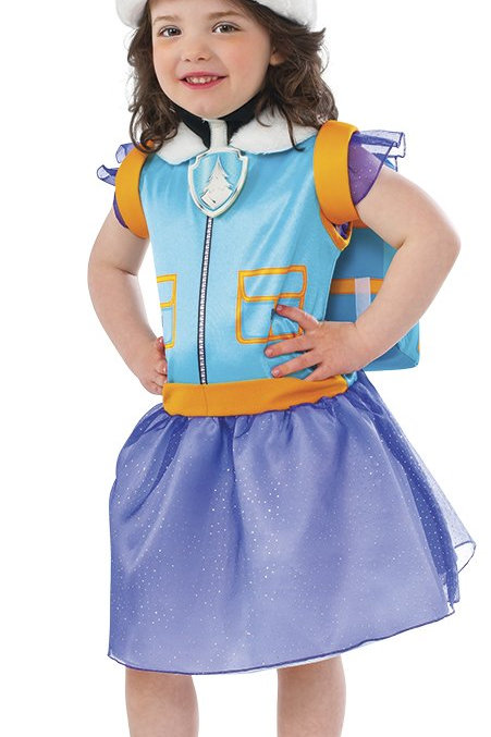 Paw Patrol Everest Girl's Costume
