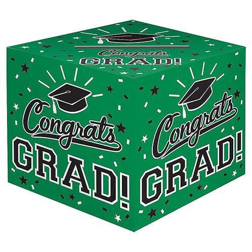 Green Grad Card Box
