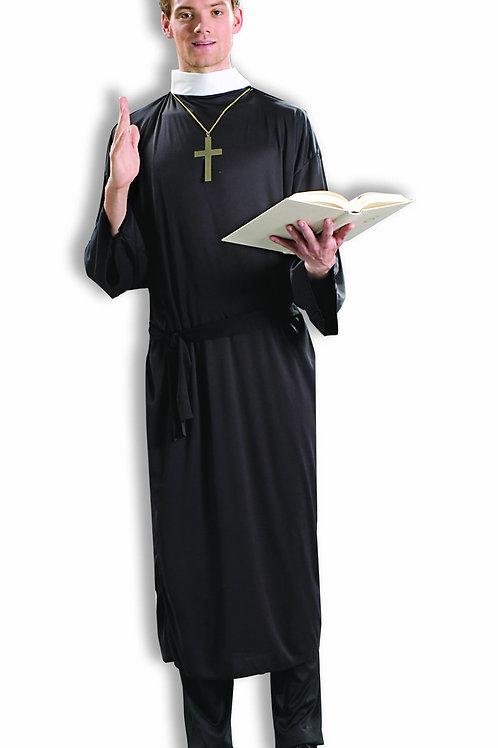 Priest Men's Costume