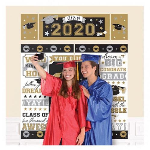 Black & Gold Grad Selfie Kit