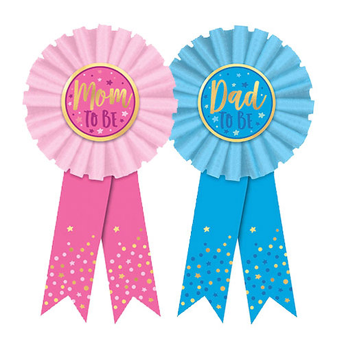 Mom and Dad to Be Ribbons