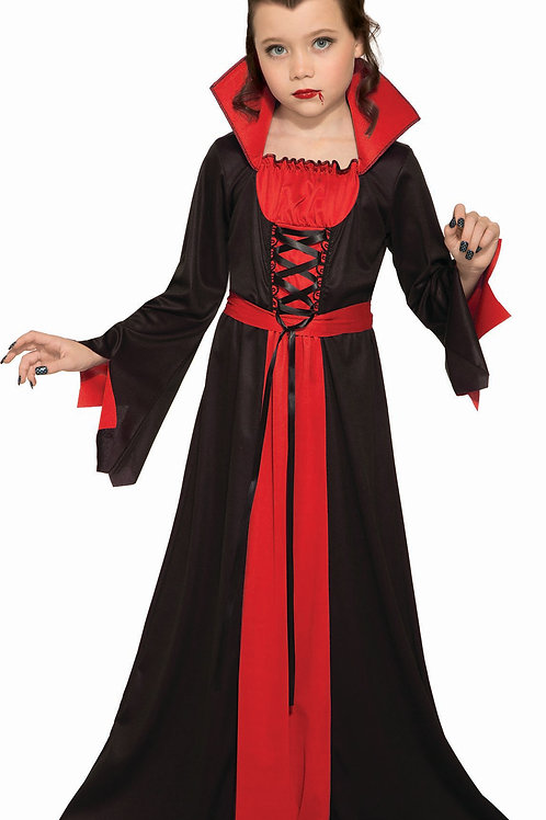 Vampiress Girl's Costume