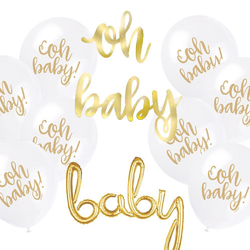 Oh Baby! Decoration Kit