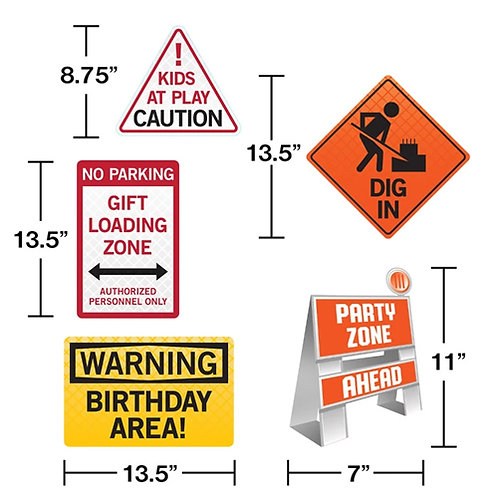 Construction Signs Kit