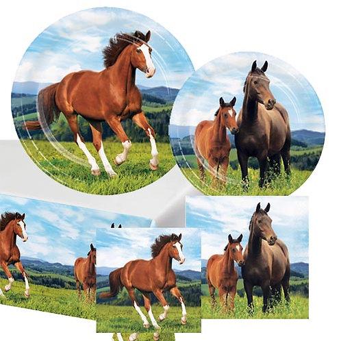 Horses Tableware Kit